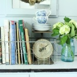 Using Vintage Items for Small Storage