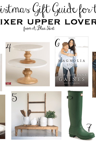 Holiday Gift Guide for the Fixer Upper Lover