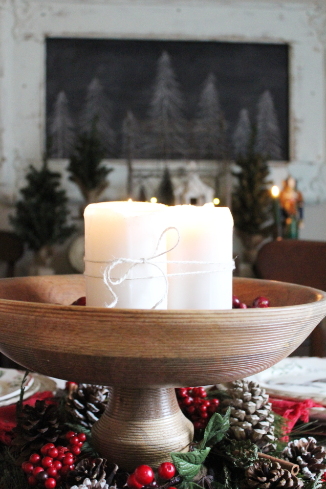 A Very Merry Tablescape & Our Christmas Dining Room   A Blue Nest