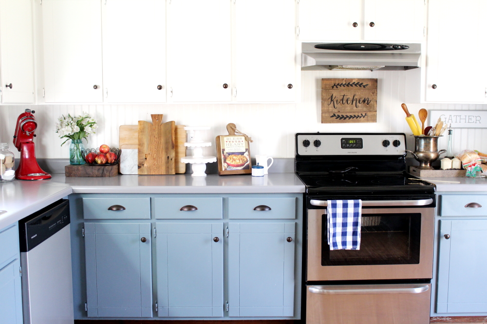 Farmhouse Kitchen DIY