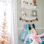 A Little Girl's Christmas Bedroom