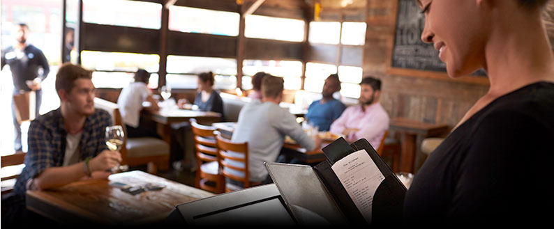 systèmes d'encaissement pour restaurant café