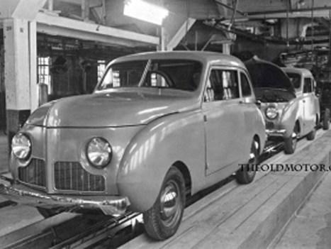 Crosley Factory Circa 1945