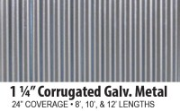 Corrugated Galvanized Steel Panels - A.B. Martin Roofing ...
