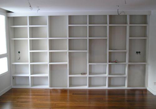bibliotheque menuiserie