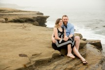La Jolla Cove Chris Jessica Engagement