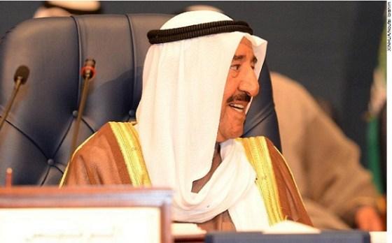 Amir of the State of Kuwait Sheikh Sabah Al-Ahmad Al Jaber Al-Sabah