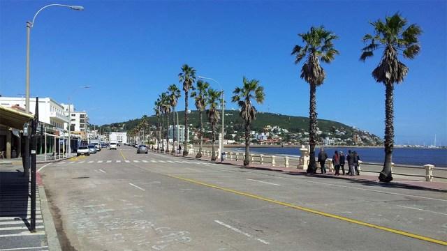 Piriápolis, Strandpromenade