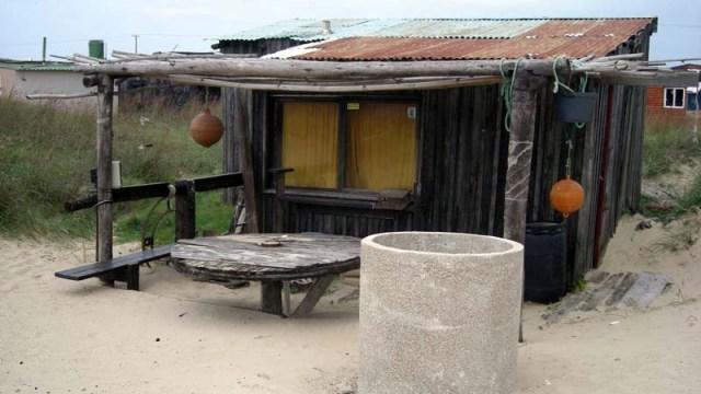 Hütte bei Cabo Polonio