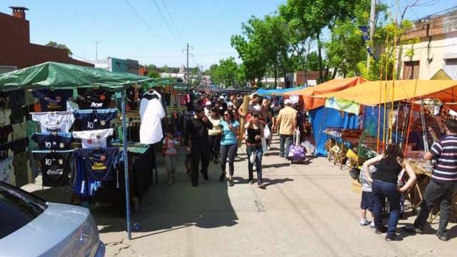 Sonntag vormittags auf dem Markt