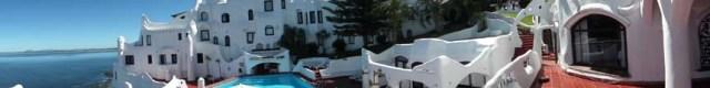 Panorama-Aufnahme von einer der Terrassen