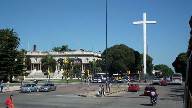 Eines der drei Kreuze von Tres Cruces