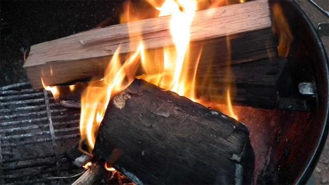 Osterfeuer auf uruguayisch :-)