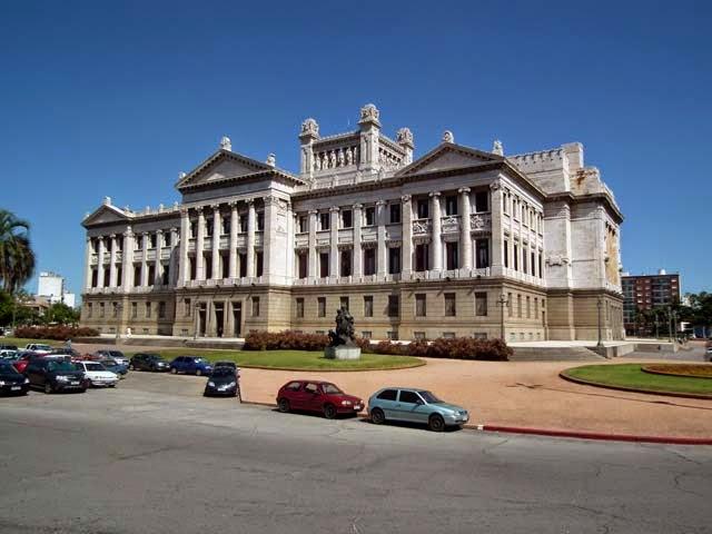 Parlamentsgebäude in Montevideo