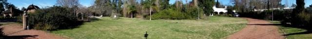 Garten - Panoramaaufnahme