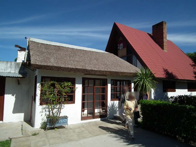 Haus mit Barbacoa