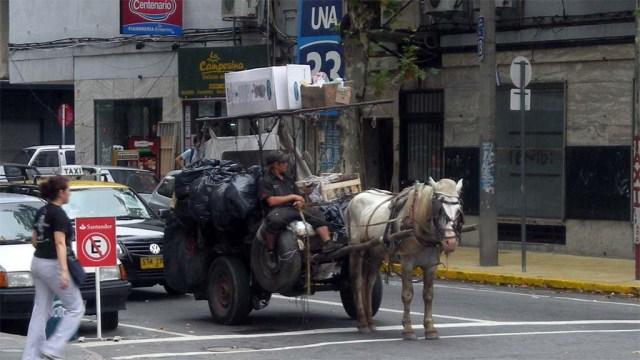 Montevideo - Müllsammler