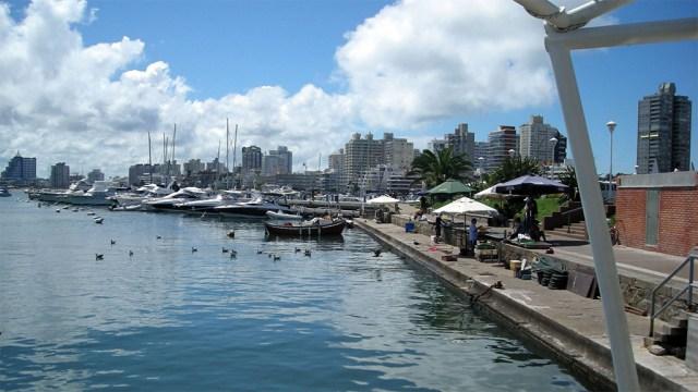 Im Hafen von Punta del Este