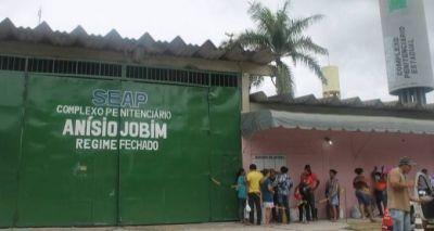 Der Gefängniskomplex Anísio Jobim am Stadtrand von Manaus