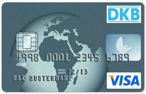 DKB-Visa-Karte - Geld am Automat ohne Gebühren im Ausland.