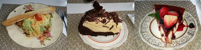 Lachs-Lasagne - Schoko-Zabaione-Torte - Käsekuchen