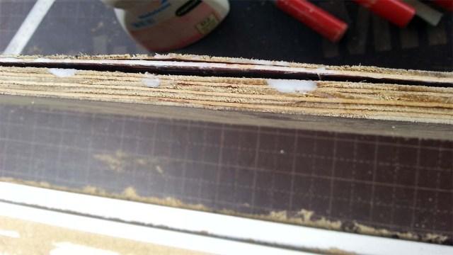 Qualitätsmängel bei den Plastificado Platten