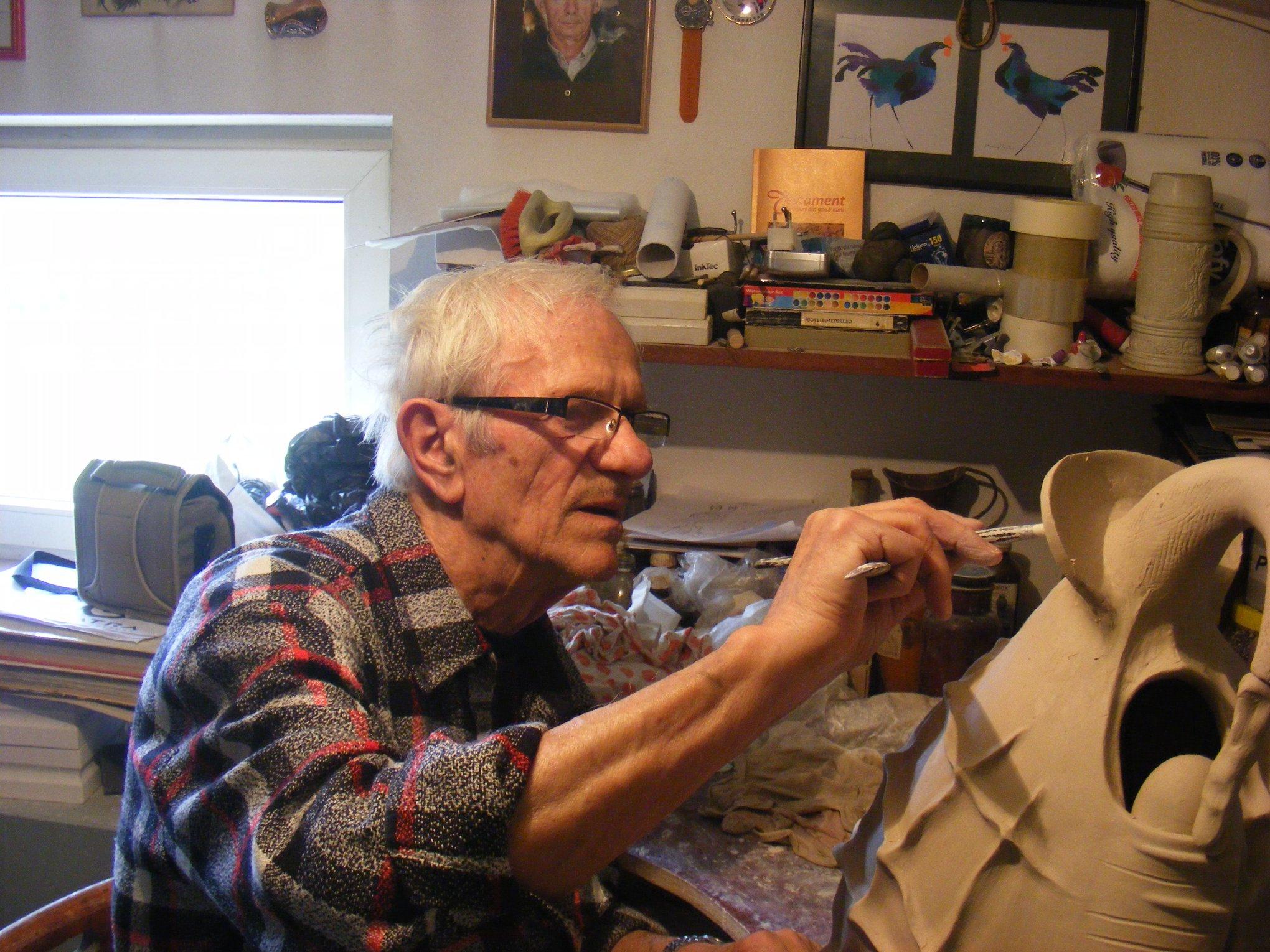 Artistul plastic Eugen Cioancă s-a stins la 83 de ani | abnews
