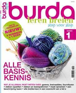 Burda leren breien stap voor stap nr 1 2015