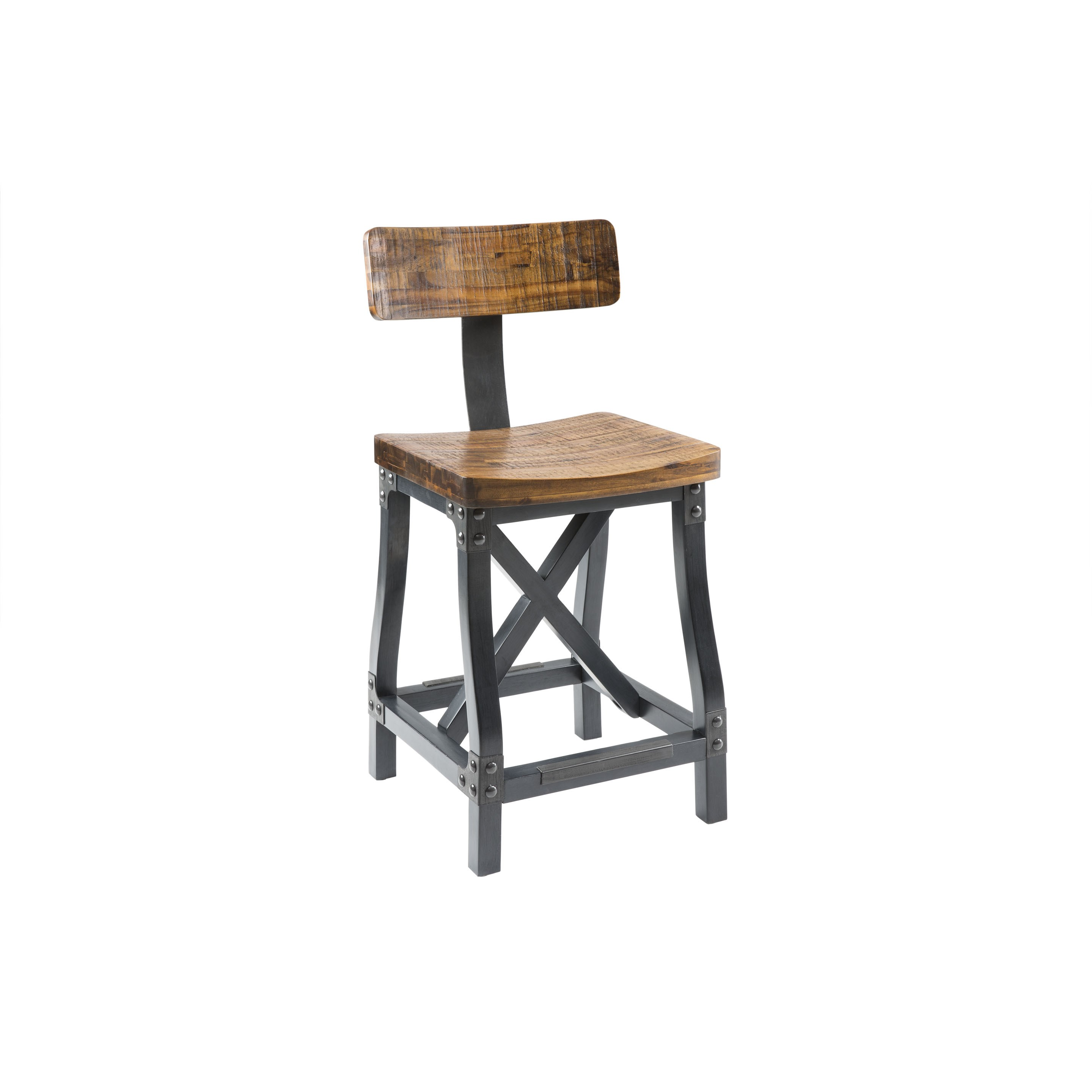 Cheyenne Counter Height Bar Stool w/Back