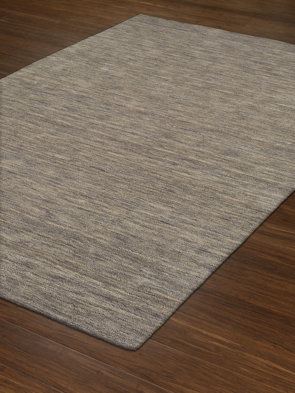 Rafia Granite Dyed Wool Pile Rug Textured Plush