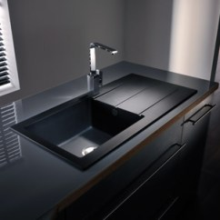 Black Sink Kitchen Cabinet Organization Composite Sinks Cleaning Recommendations Dont S