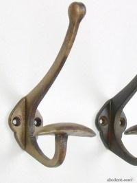 Industrial Classic Style Vintage Metal Coat Hook Hooks ...