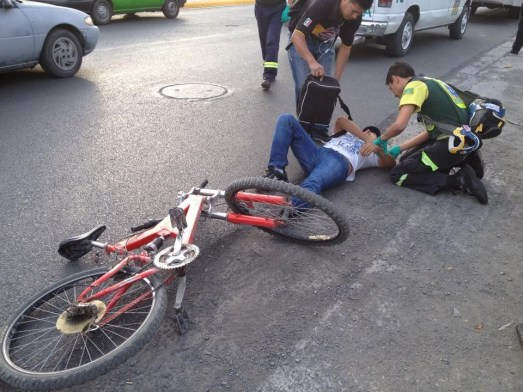 Indemnización por accidente en bicicleta,