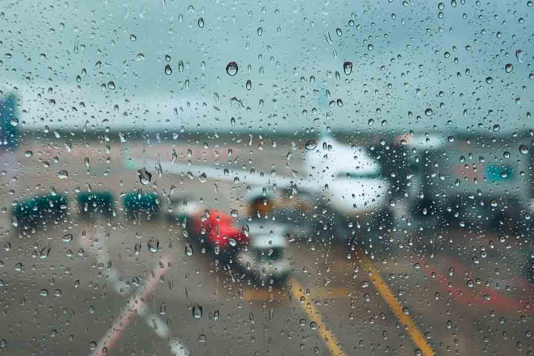 vuelo cancelado mal tiempo