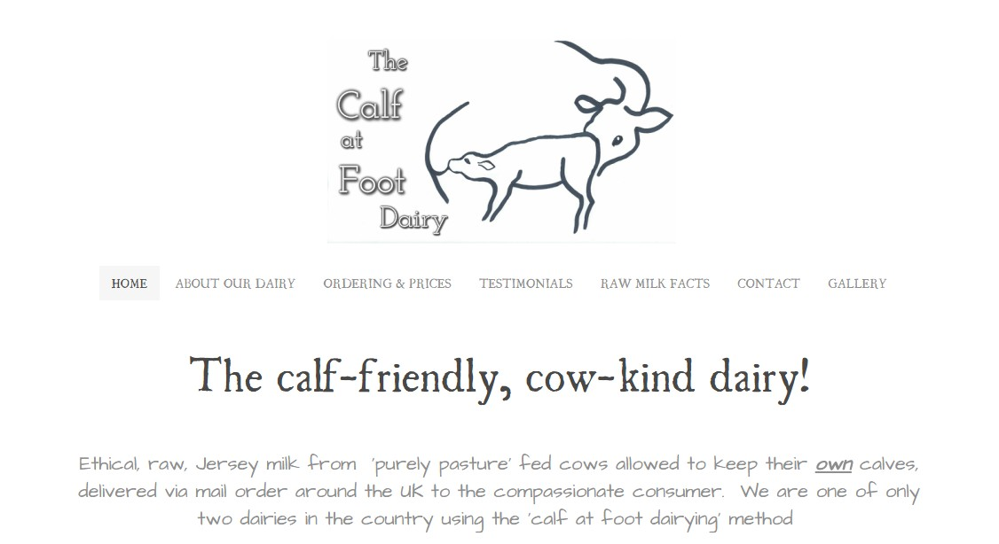 """The Calf at Foot Dairy and Happy Exploitation: """"They produce better"""