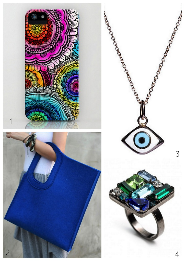 A Bolt of Blue  Cool Accessories