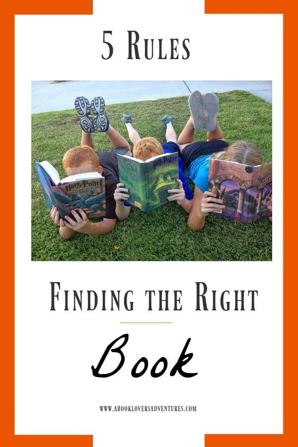 Find the just right book