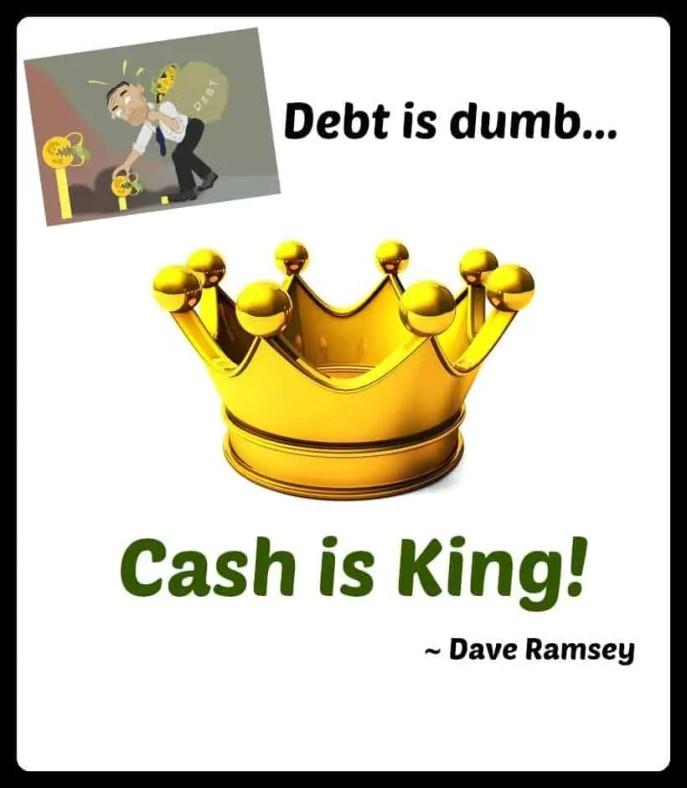 becoming debt-free