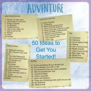 Adventurous!