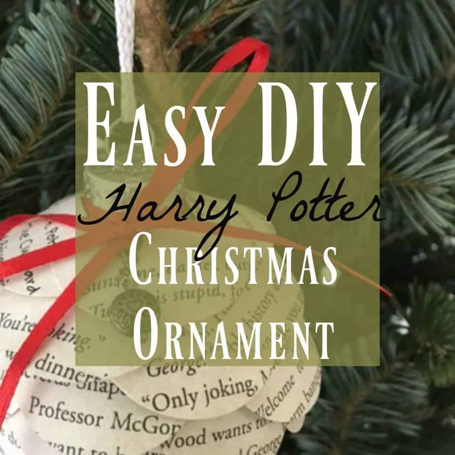 Harry Potter Christmas Ornaments Easy Fun To Make