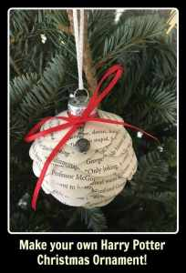 Harry Potter Christmas Ornaments to make