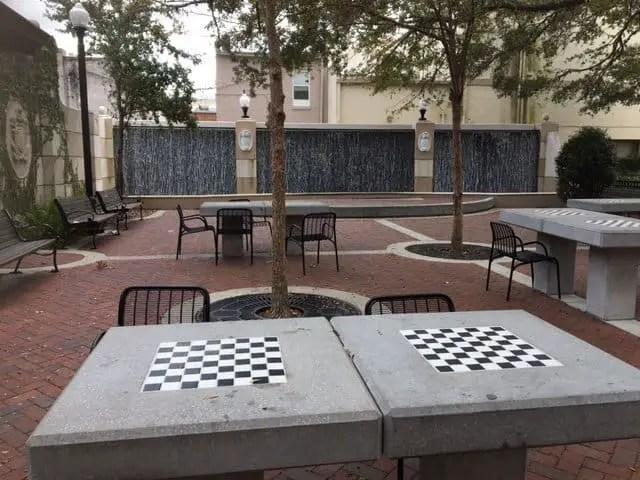 Chess Park Deland Florida