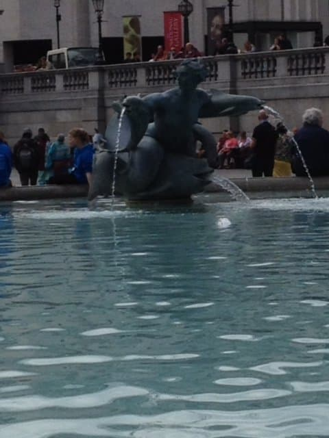 Fountain in Trafalgar Square