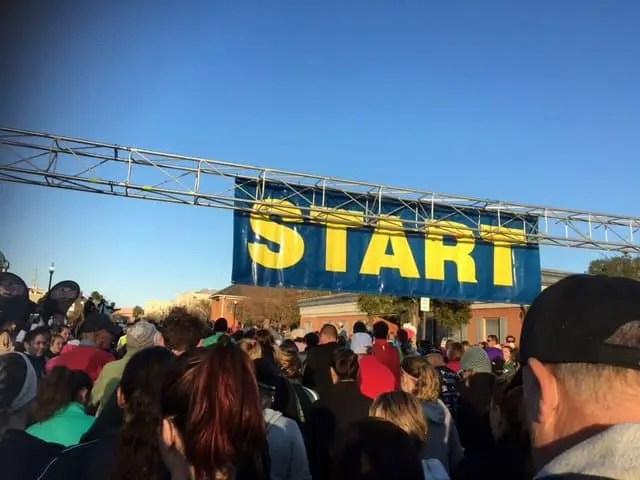 5K start