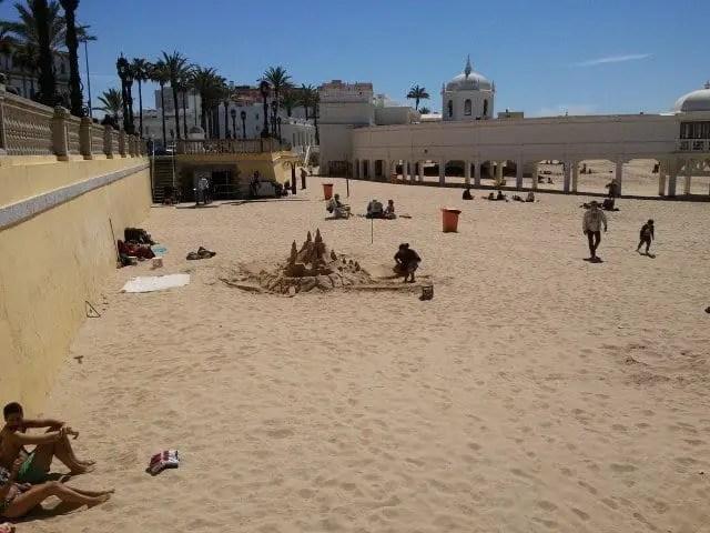 Cadiz beach