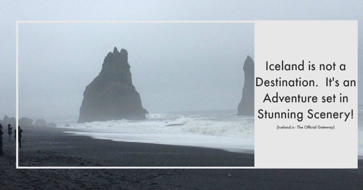 The black beaches are a must see for your Iceland stopover