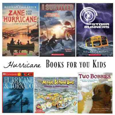 HURRICANE Books ~ For You and Your Kids to Read!