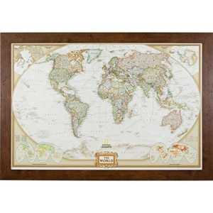 traveler gift world map