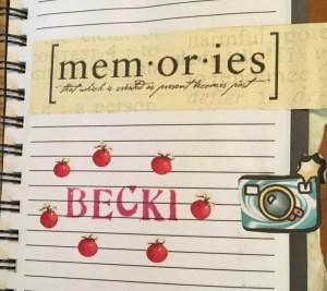 letter writing journal