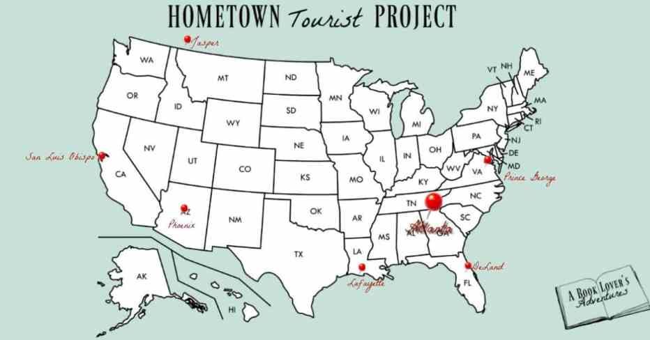 Hometown Tourist Project Map